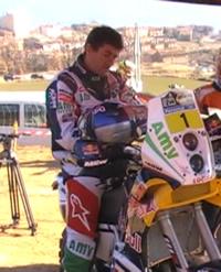 Marc Coma en su moto oficial